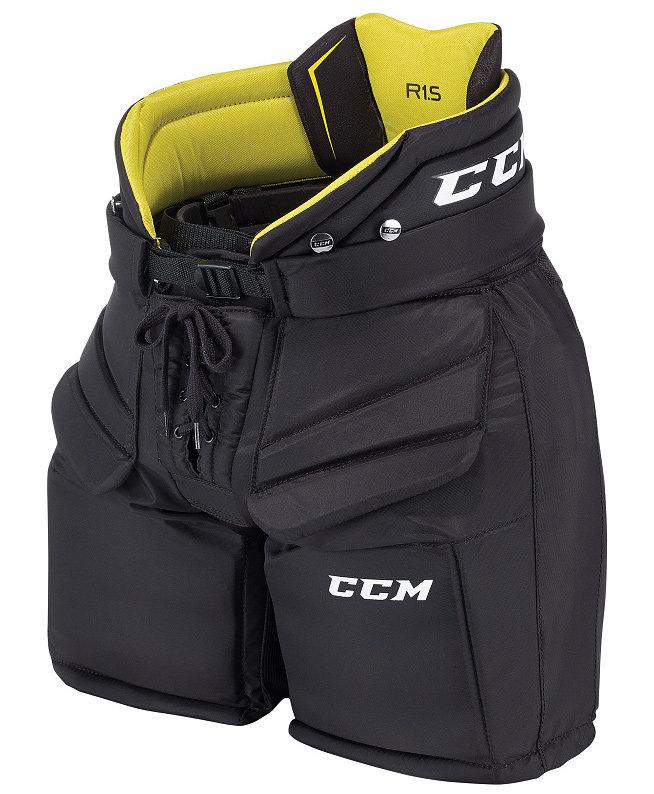 Černé brankářské hokejové kalhoty - junior CCM