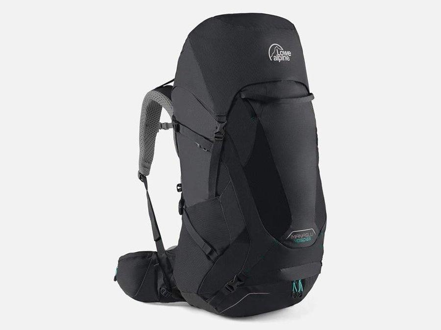 Černý turistický batoh Lowe Alpine - objem 65 l