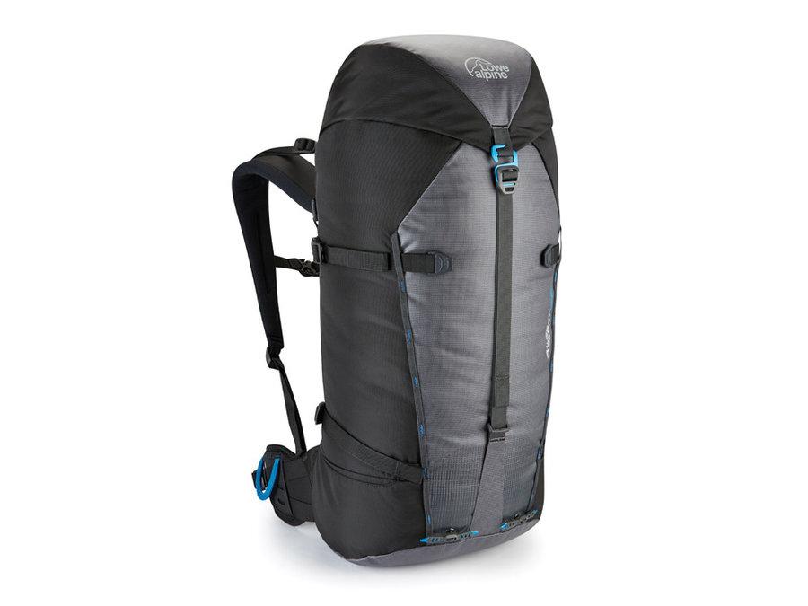 Černo-šedý horolezecký batoh Lowe Alpine - objem 50 l