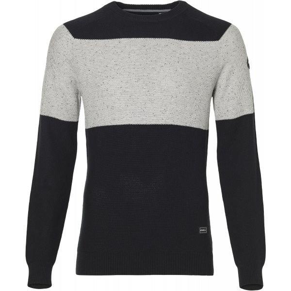 Černo-šedý pánský svetr O'Neill