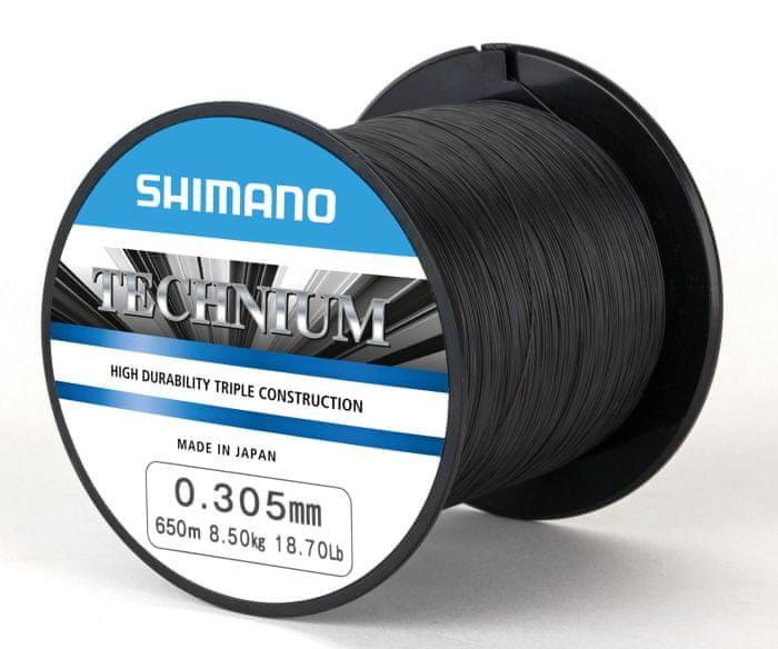Rybářský vlasec Shimano - průměr 0,285 mm a délka 1250 m