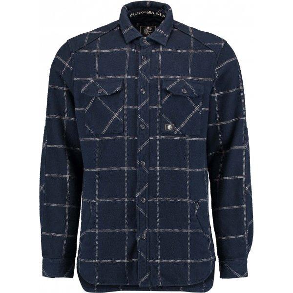 Modrá pánská košile s dlouhým rukávem O'Neill - velikost S