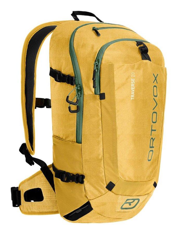 Žlutý turistický batoh Ortovox - objem 20 l