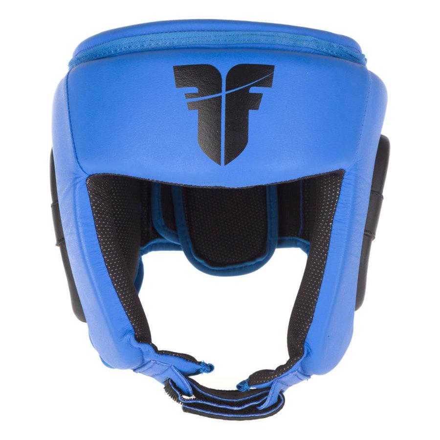 Modrá boxerská přilba Fighter