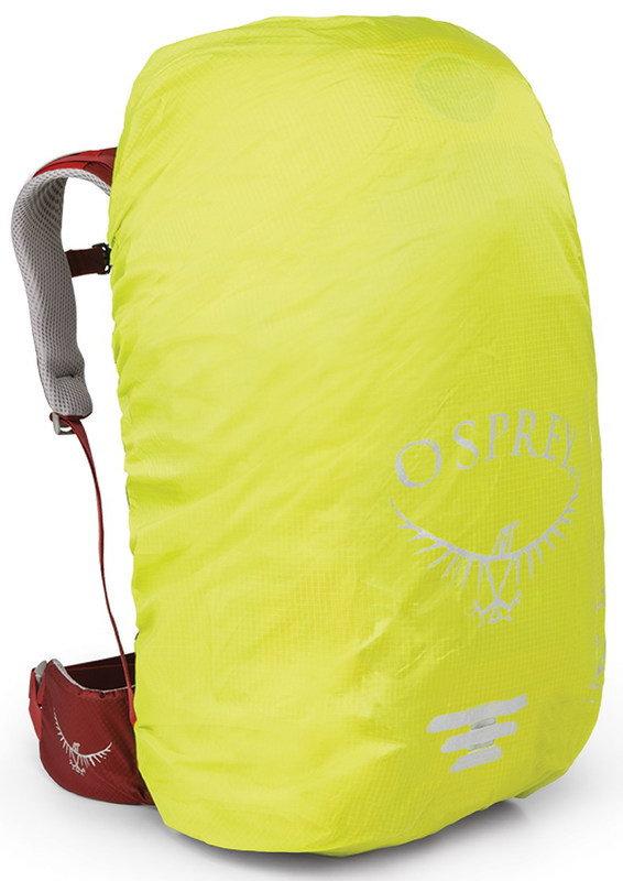 Žlutá pláštěnka na batoh Osprey - objem 20-35 l