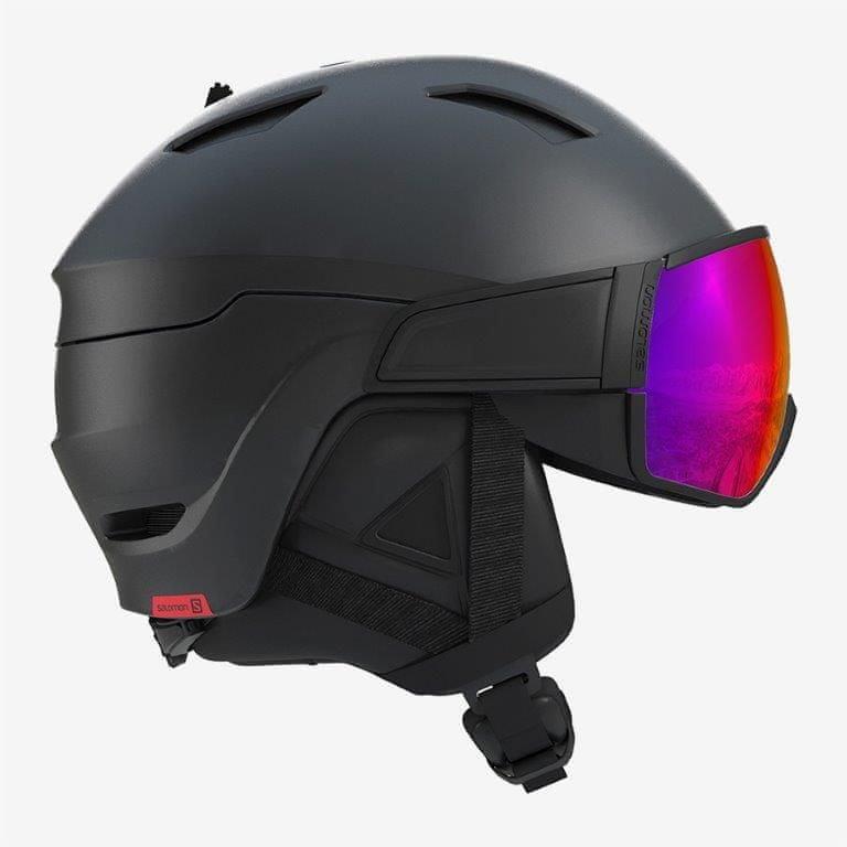 Černá lyžařská helma Salomon - velikost 59-62 cm