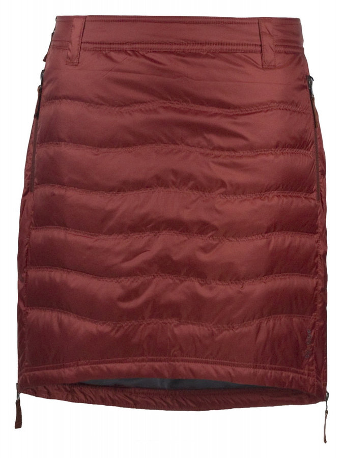 Červená dámská sukně na běžky Skhoop - velikost S