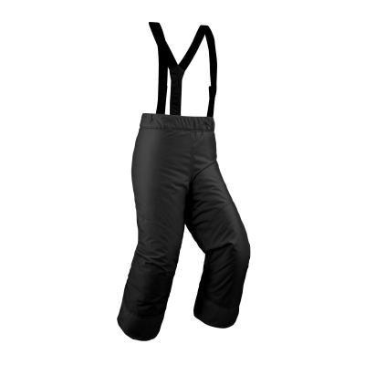 Černé dětské lyžařské kalhoty Wed'ze