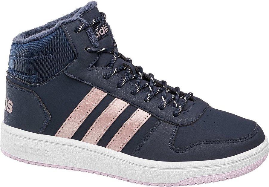 Modré dětské tenisky Adidas - velikost 40 EU