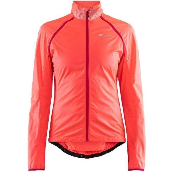 Růžová dámská cyklistická bunda Craft