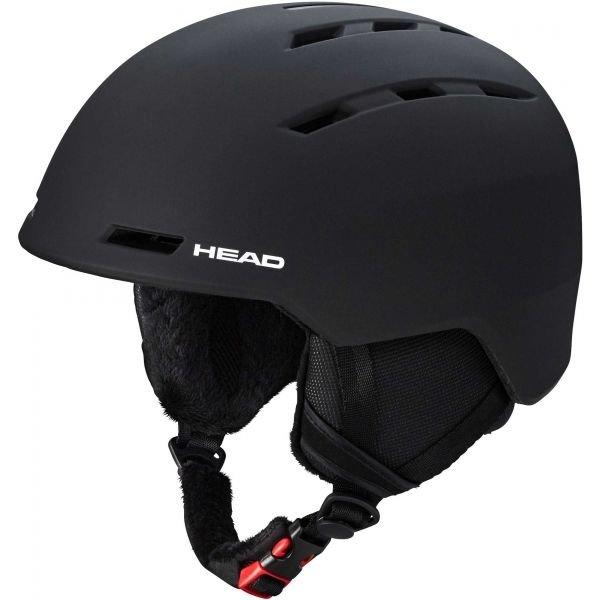 Černá pánská lyžařská helma Head