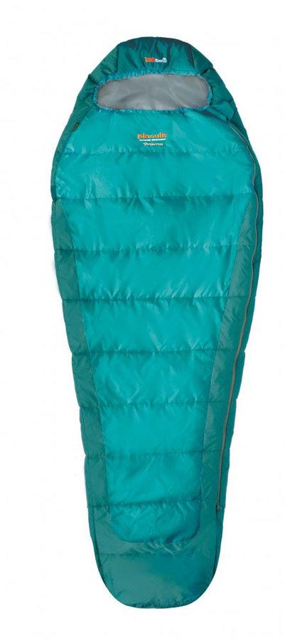 Spací pytel - Spacák Pinguin Tramp 185 cm Barva: modrá / Zip: Pravý / Velikost spacáku: 185cm
