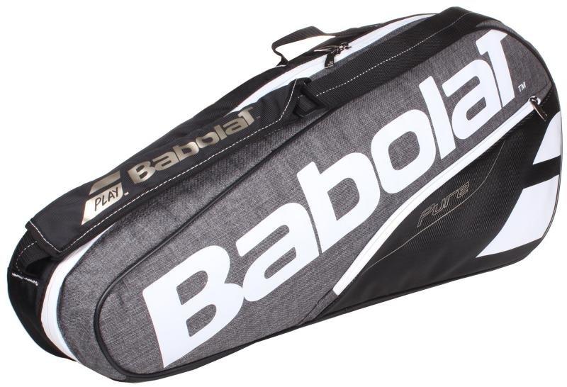 Tenisová taška - Pure Line x3 2017 taška na rakety barva: černá-šedá