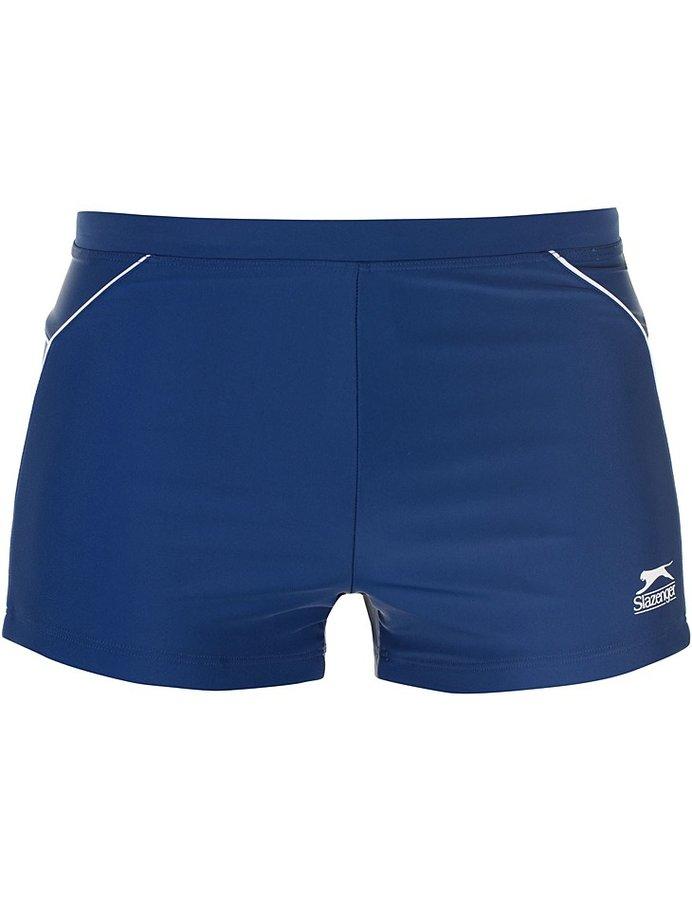 Modré pánské plavky Slazenger