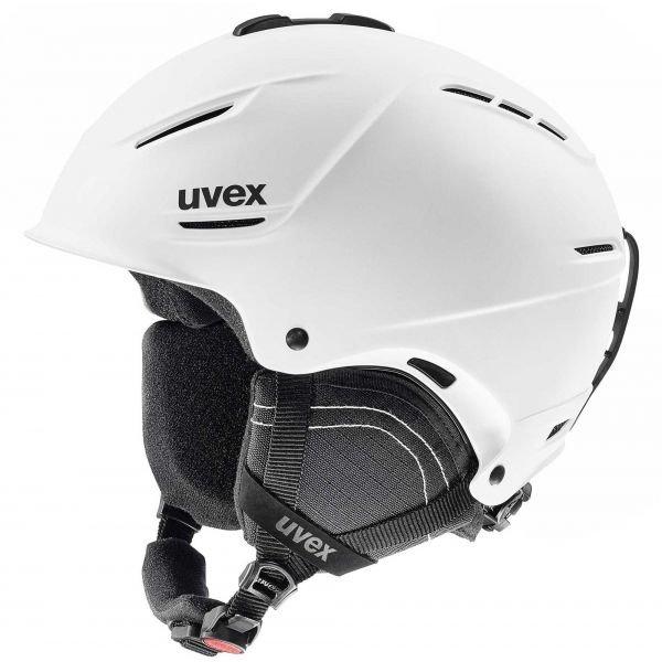 Bílá pánská lyžařská helma Uvex