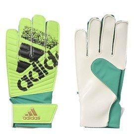 Bílo-zelené brankářské fotbalové rukavice X LITE, Adidas
