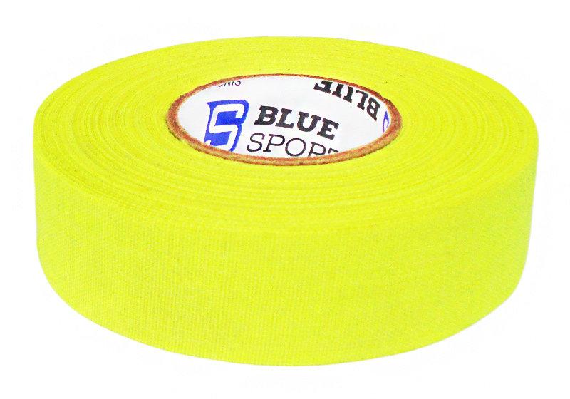 Hokejová páska - Izolace na hokejky Blue Sports neon žlutá 25 m Barva: neon žlutá