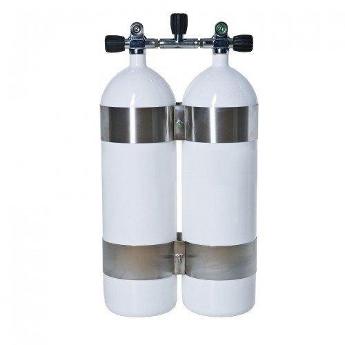 Potápěčská tlaková láhev - Potápěčská láhev 2x10l komplet Vítkovice