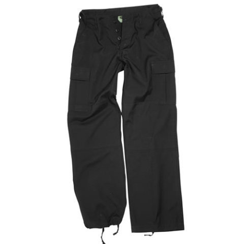 Kalhoty - Kalhoty dámské US BDU rip-stop předeprané ČERNÉ