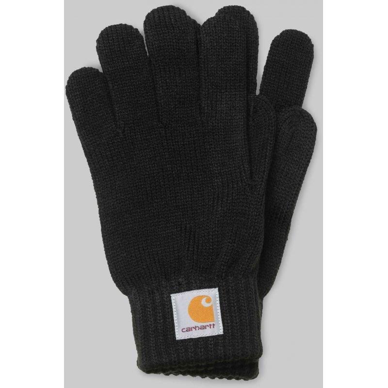 Černé zimní rukavice Carhartt WIP - velikost S-M