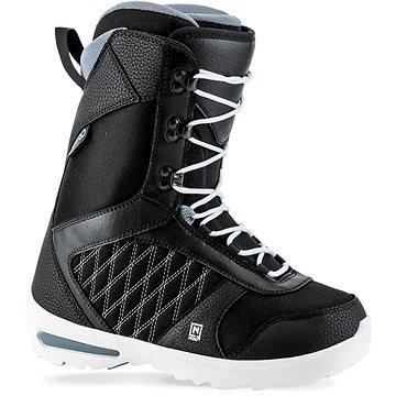 Černé dámské boty na snowboard Nitro - velikost 37,5 EU