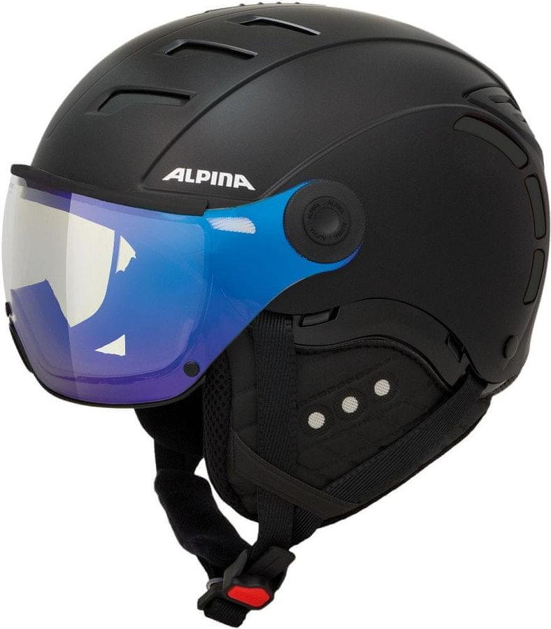 Černá helma na snowboard Alpina - velikost 59-61 cm
