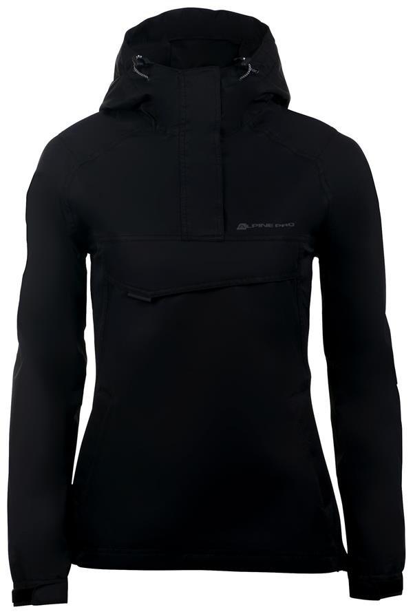 Černá dámská bunda Alpine Pro - velikost XS