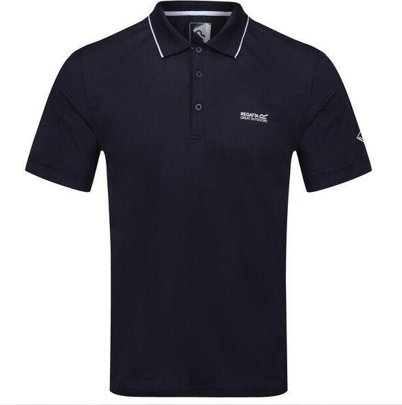 Modré pánské funkční tričko s krátkým rukávem Regatta - velikost M