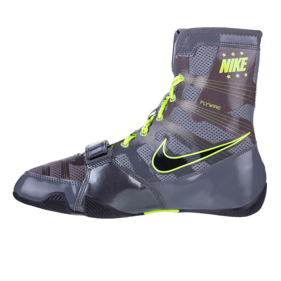 Šedo-zelené boxerské boty - obuv HyperKO, Nike - velikost 46 EU