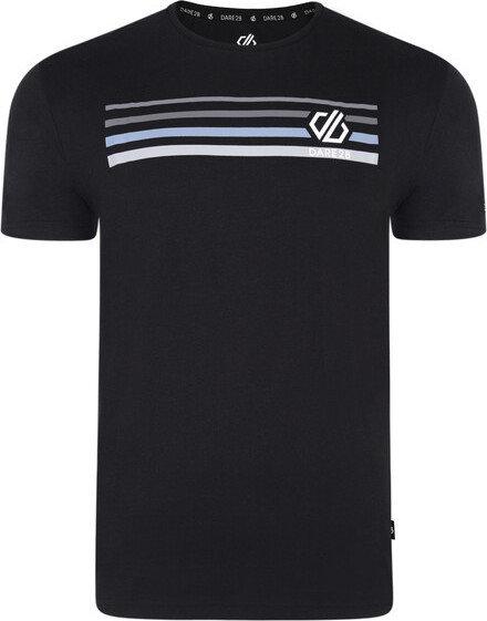 Černé pánské tričko s krátkým rukávem Dare 2b - velikost S