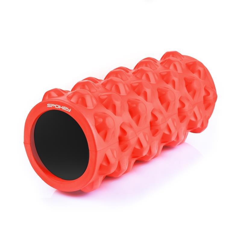 Masážní válec - SPOKEY - ROLL fitness masážní válec červený