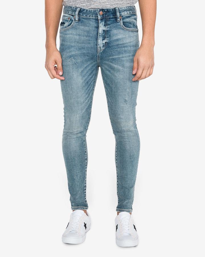 Modré pánské džíny SuperDry - velikost 33