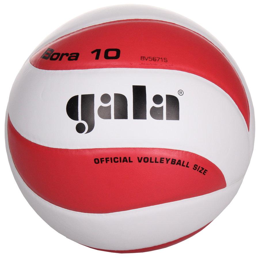 Bílo-červený volejbalový míč BV5671S, Gala - velikost 5