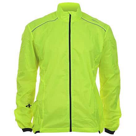 Žlutá cyklistická bunda Avento - velikost XXL