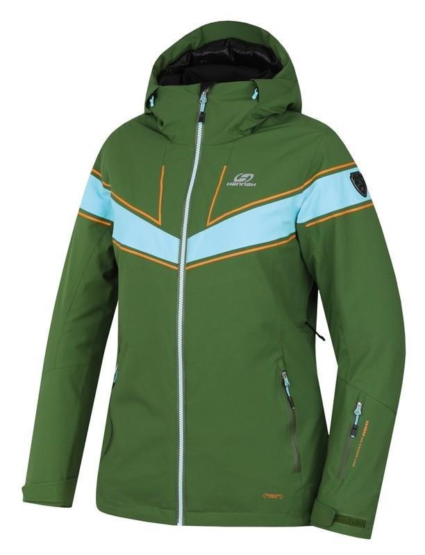 Modro-zelená dámská lyžařská bunda Hannah - velikost 42