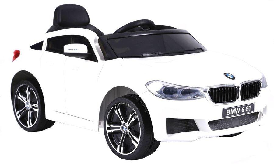 Bílé dětské elektrické autíčko BMW 6GT, Beneo