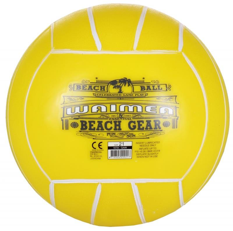Plážový míč - Play 21 plážový míč barva: žlutá