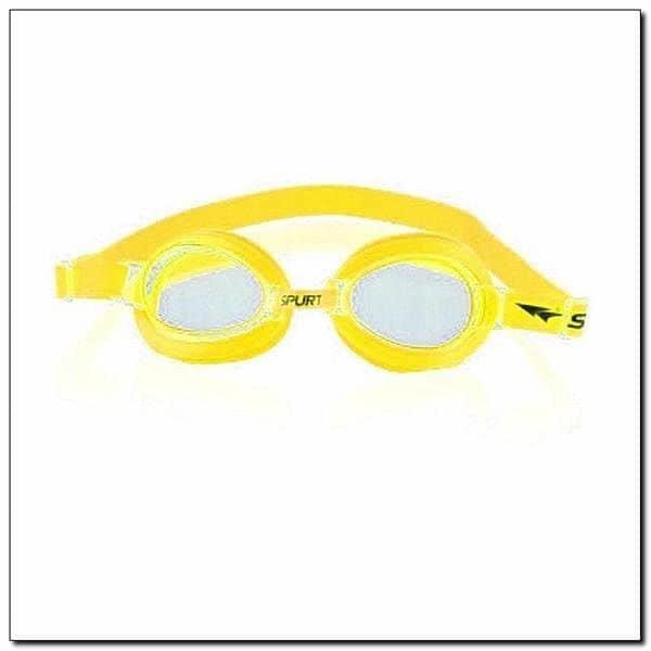 Žluté plavecké brýle SIL-20 AF, SPURT