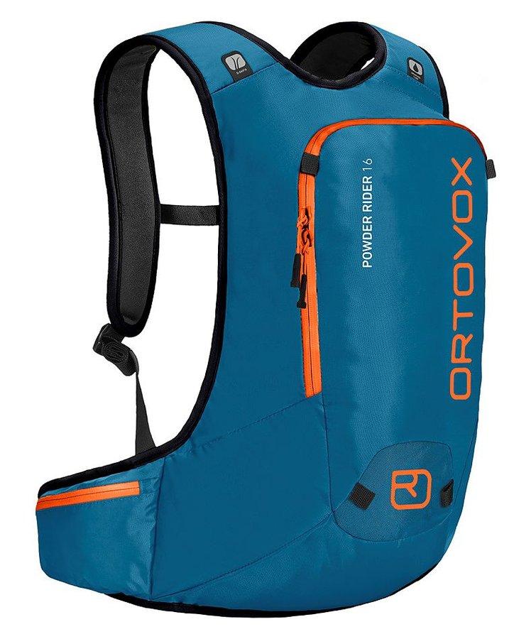 Modrý turistický batoh Ortovox - objem 16 l