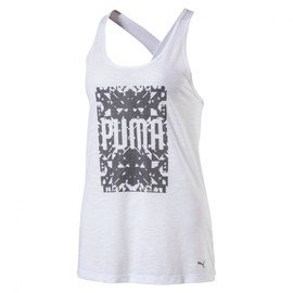 Bílé dámské tílko Puma - velikost L