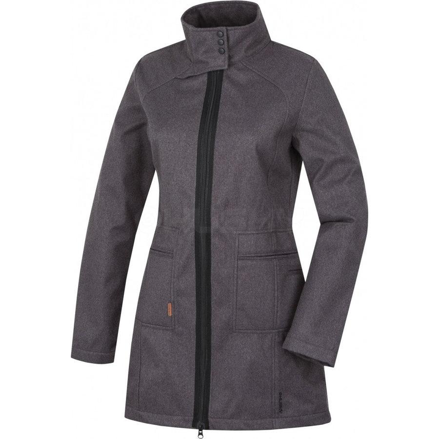 Černý dámský kabát Husky