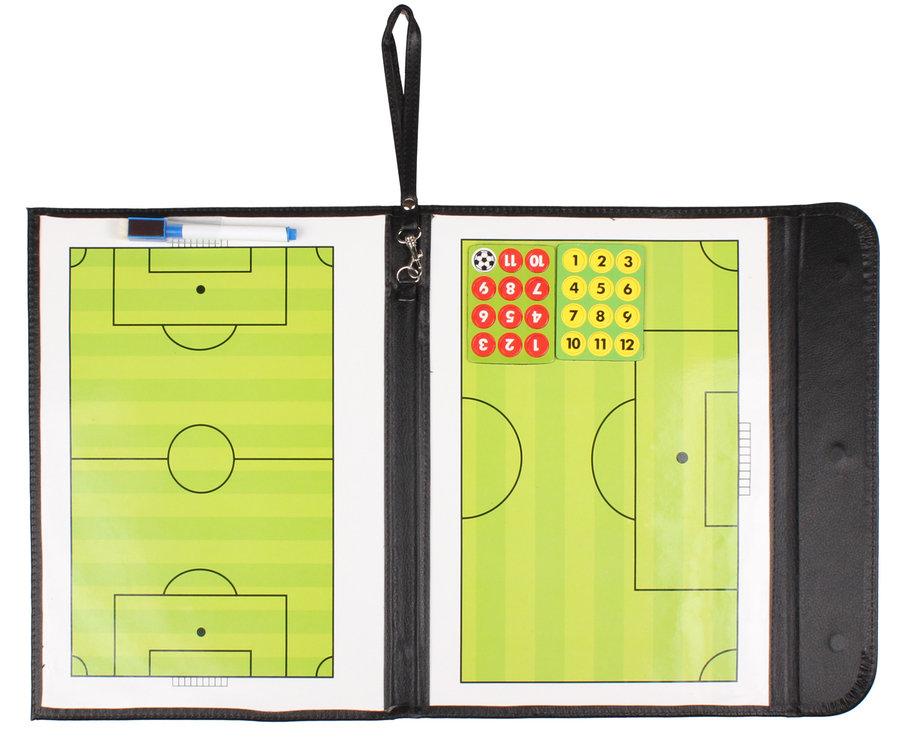 Fotbalová trenérská tabule Merco - délka 54 cm a šířka 32 cm
