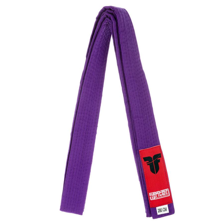 Fialový judo pásek Fighter