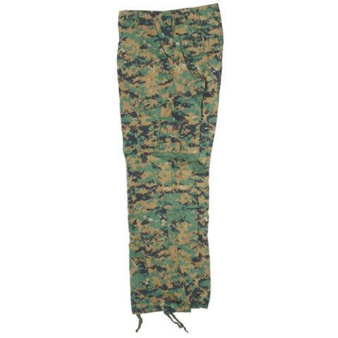 Kalhoty - Kalhoty US typ ACU rip-stop DIGITAL WOODLAND