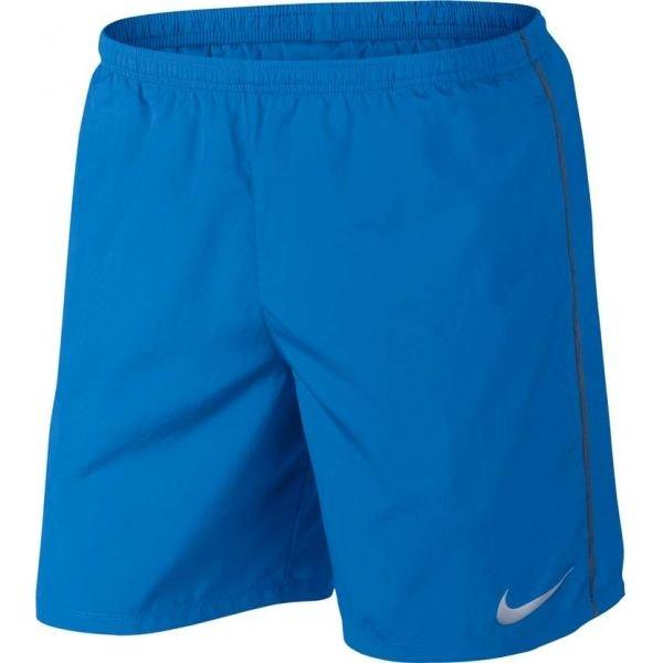 Modré pánské běžecké kraťasy Nike