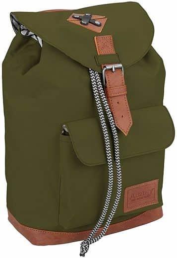 Batoh - Dětský batoh Abbey Leather Strap Černý