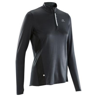 Černé dámské běžecké tričko Kalenji