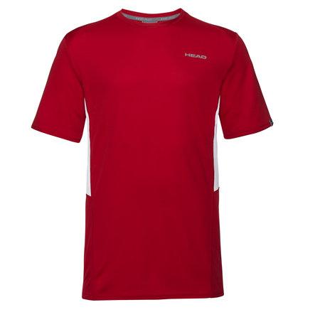 Červené pánské tričko s krátkým rukávem Head