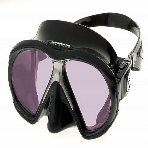 Černá potápěčská maska Subframe ARC, Atomic Aquatics