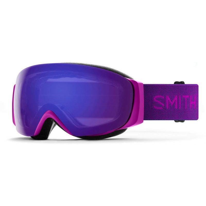 Fialové brýle na snowboard Smith